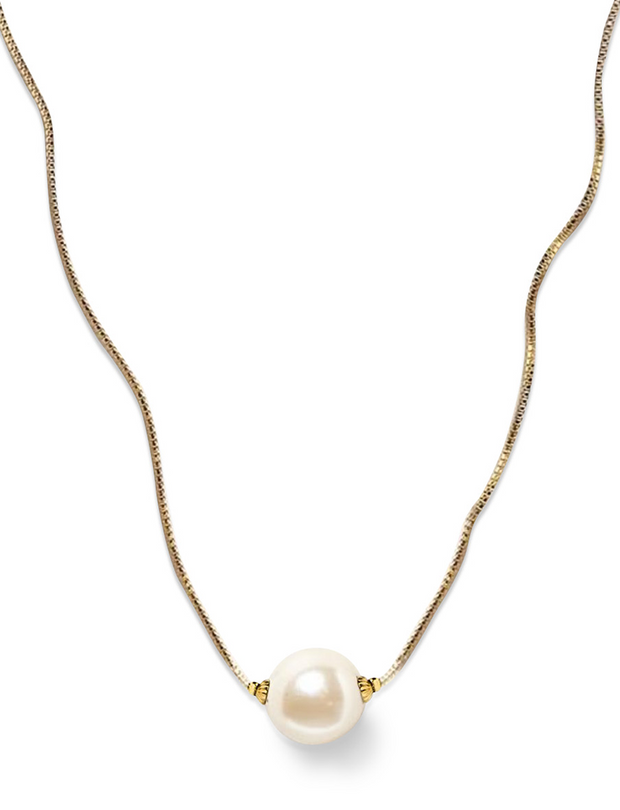 Simply Pearlfect Gold Necklace - piper-and-dune - Jewelry