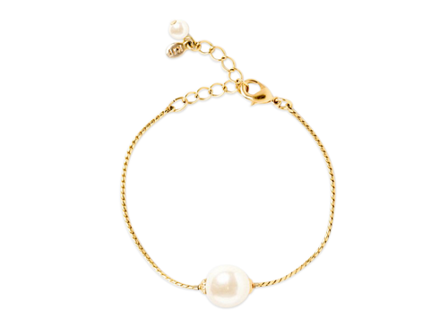 Simply Pearlfect Gold Bracelet - piper-and-dune - Jewelry