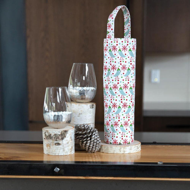 Holiday Wine Gift Bags - 2 Styles