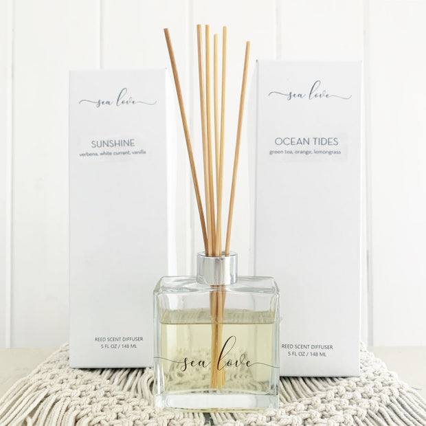 Reed Scent Diffuser - 3 Scents
