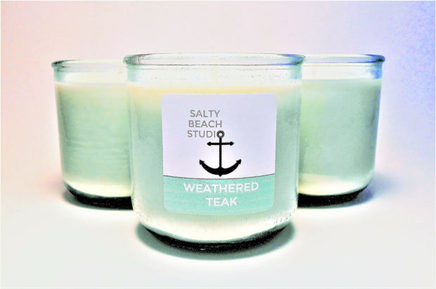 Anchor's Away Collection Hand-Poured Soy Candles - piper-and-dune - Home Goods