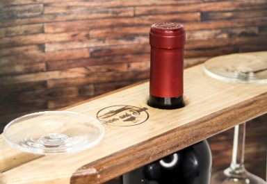 Wooden Wine Caddy - piper-and-dune - Home Goods