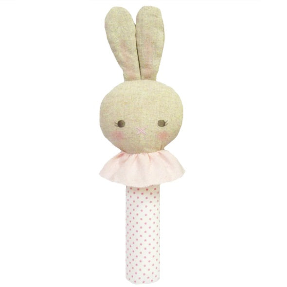 Bunny Squeakers - Pink or Blue - piper-and-dune - Baby + Kids