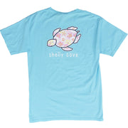 Blue Hibiscus T-Shirt | Shelly Cove