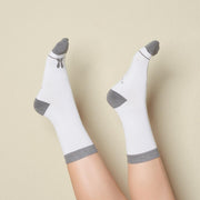 Women's Bamboo Crew Socks - Some Bunny Loves You