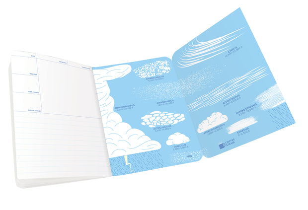 Cloudspotting Notebook - piper-and-dune - Books