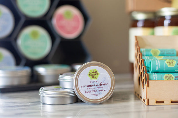 All Natural Seasonal Defense and Cough Relief Salve| Maine Street Bee