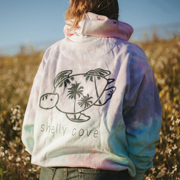 Cotton Candy Tie-Dye Hoodie | Shelly Cove