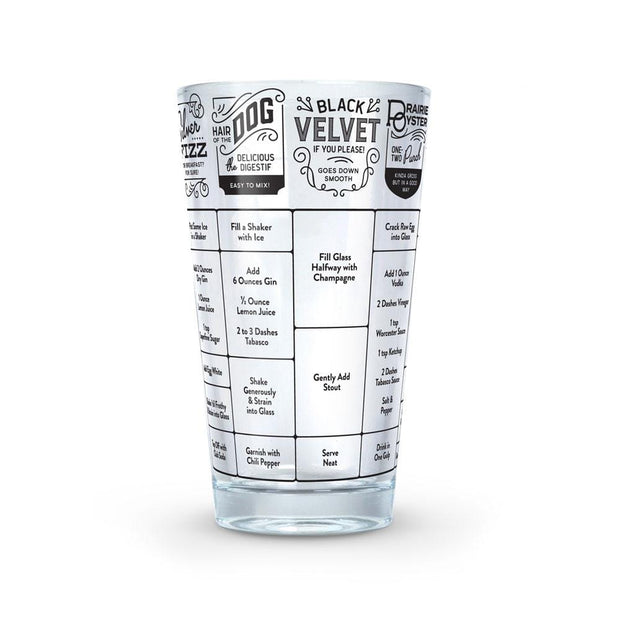 "Good Measure Cocktail Recipe Glass ""Hangover"""
