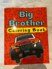 Big Brother Coloring Book