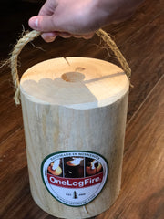 One Log Fire - 2 Sizes