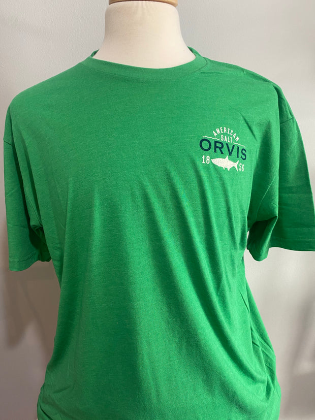 American Salt Tee Shirt - Green | Orvis