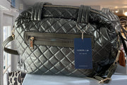 The Quilted Satchel | Luken + Co. - 2 Colors