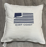 Connecticut Down Throw Pillows by The Two Oh Three - 4 Options