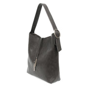 Jillian Hobo Vegan Bag with Tassel- 2  Colors