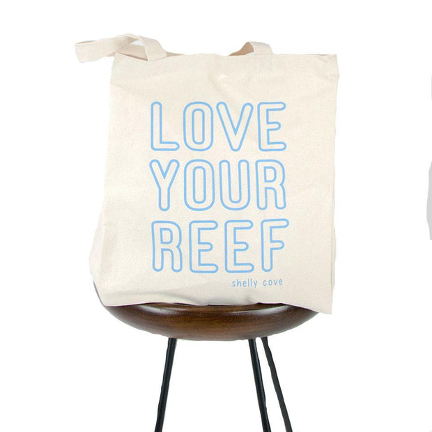 Love Your Reef Tote | Shelly Cove
