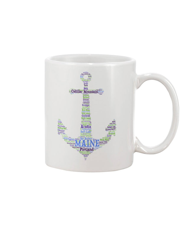 Piper and Dune Maine Anchor 15oz Mug