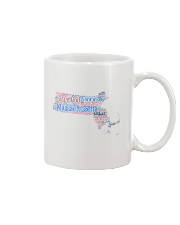 Piper and Dune Massachusetts 15oz Mug