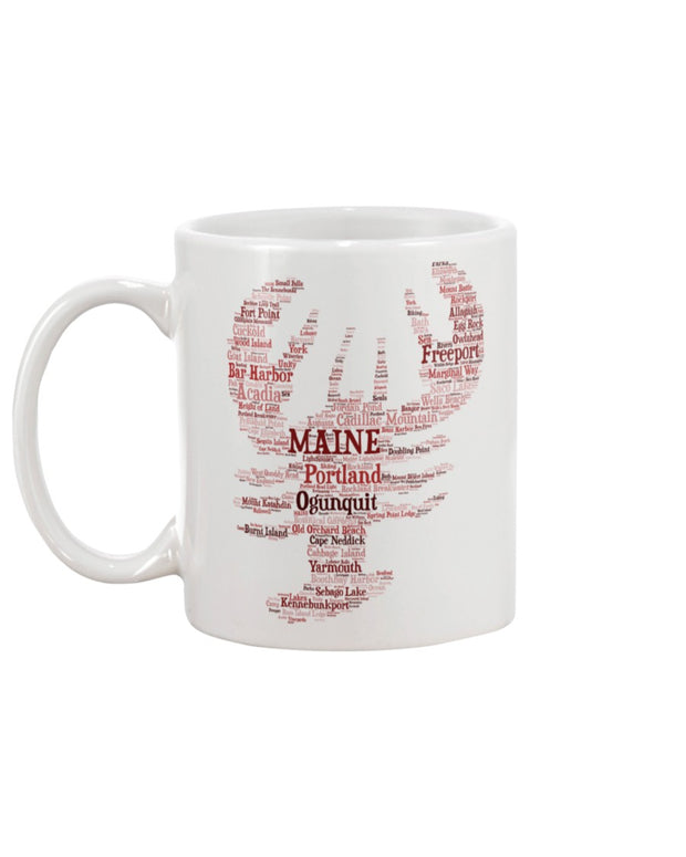 Piper and Dune Maine Lobster 15oz Mug