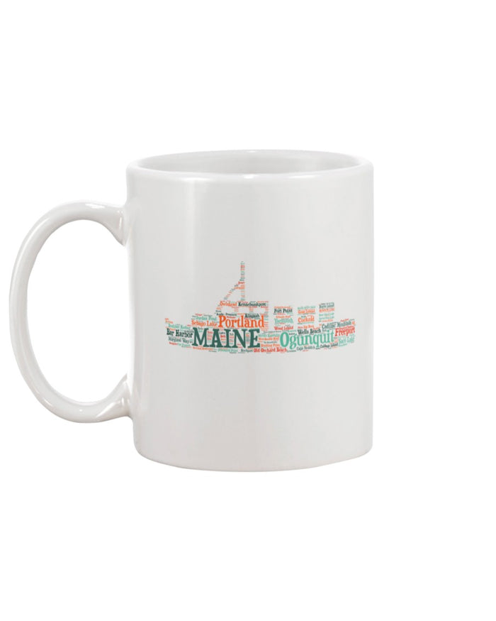 Piper and Dune Maine Lobster Boat 15oz Mug