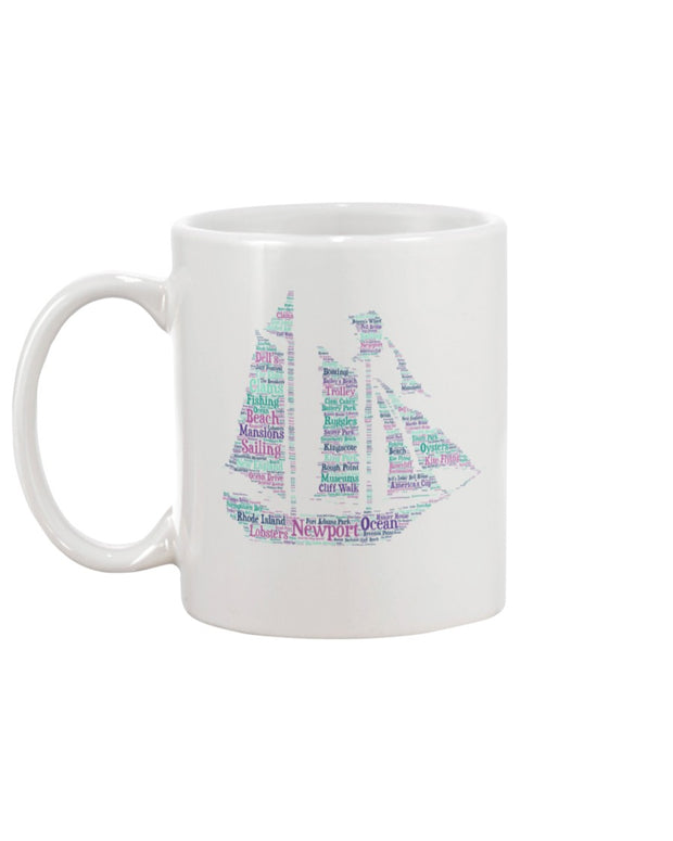 Piper and Dune Rhode Island Clipper 15oz Mug