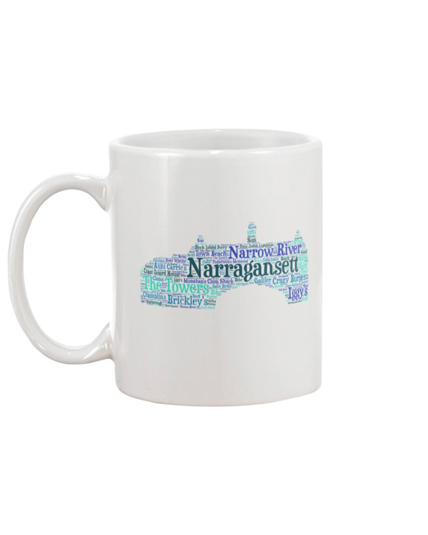 Piper and Dune Narragansett Towers 15oz Mug