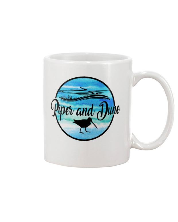 Piper and Dune Watercolor Logo 15oz Mug