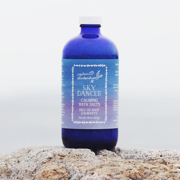 Skydancer Bath Salts 16 oz. Bottle - piper-and-dune - Health + Beauty
