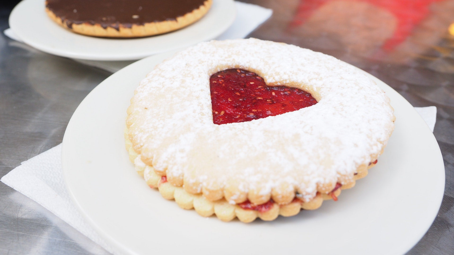 Lovely Linzer Biscuits
