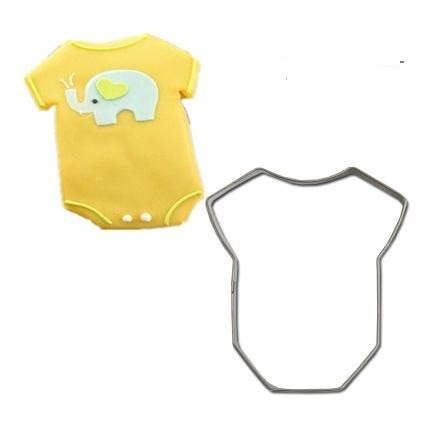 Baby Romper - 6cm - Stainless Steel - Crafty Cookie Cutters