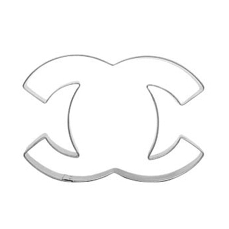 Chanel Cookie Cutter - Stainless Steel - Crafty Cookie Cutters