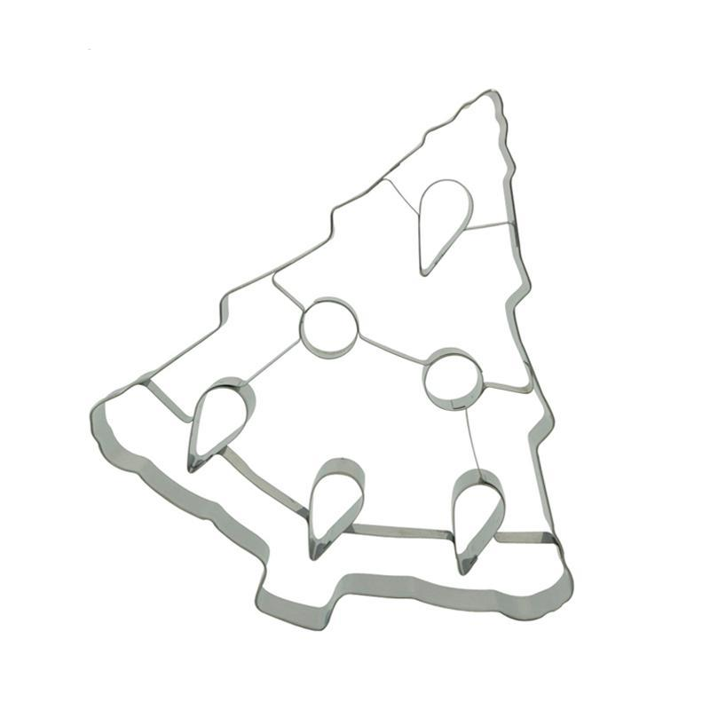 Christmas Tree Cookie Cutter - 19cm - Stainless Steel - Crafty Cookie Cutters