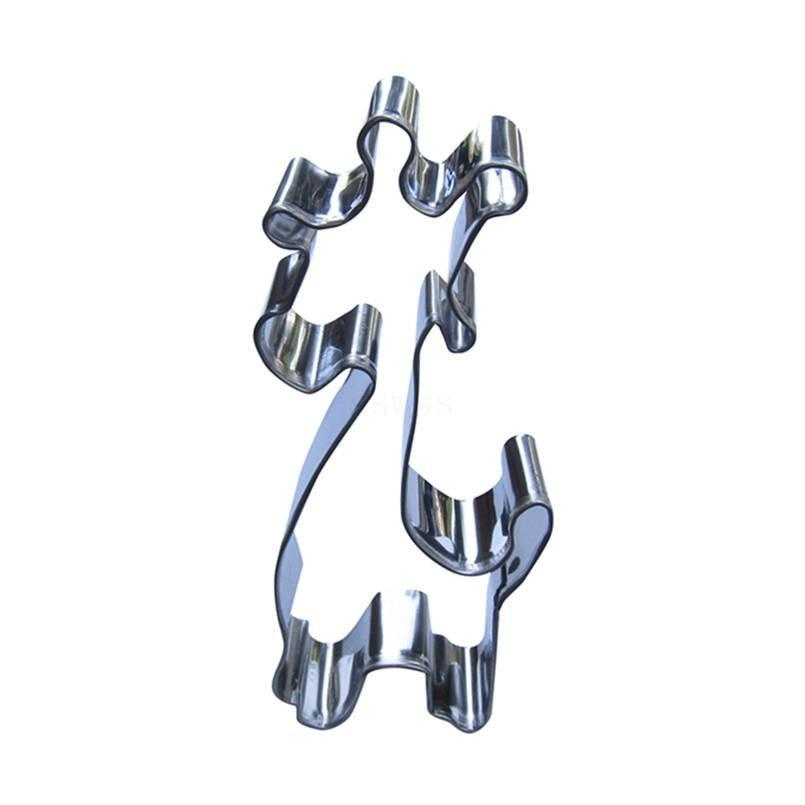Giraffe Cookie Cutter - 12cm - Stainless Steel - Crafty Cookie Cutters