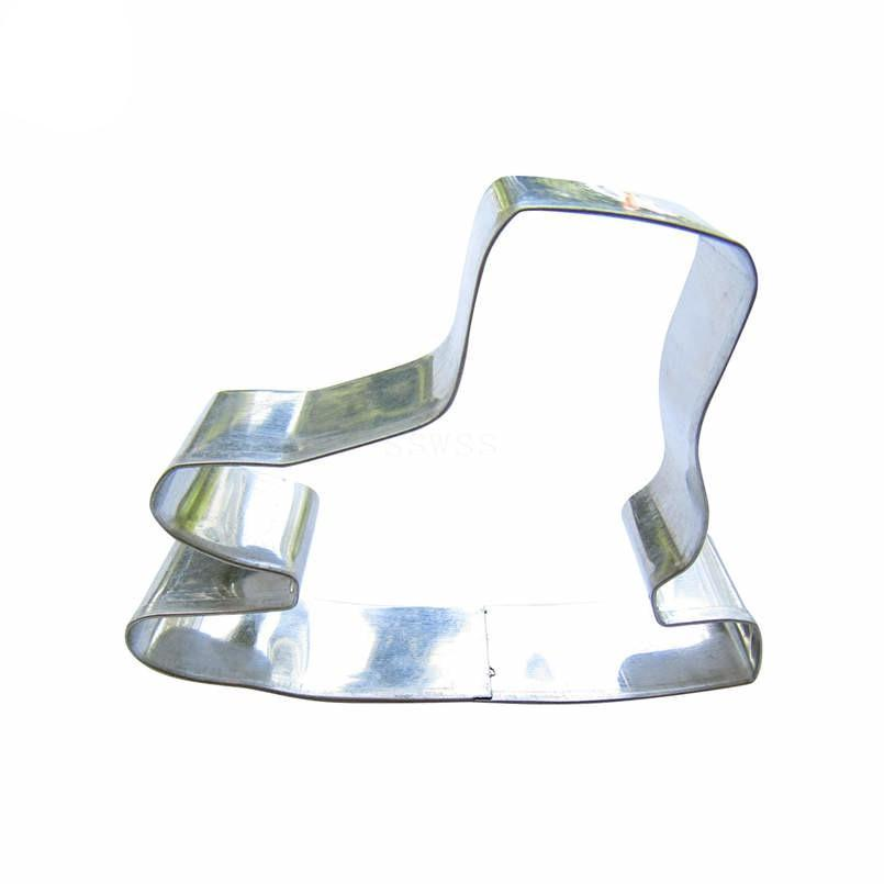 Ice Skate Cookie Cutter - 7cm - Stainless Steel - Crafty Cookie Cutters