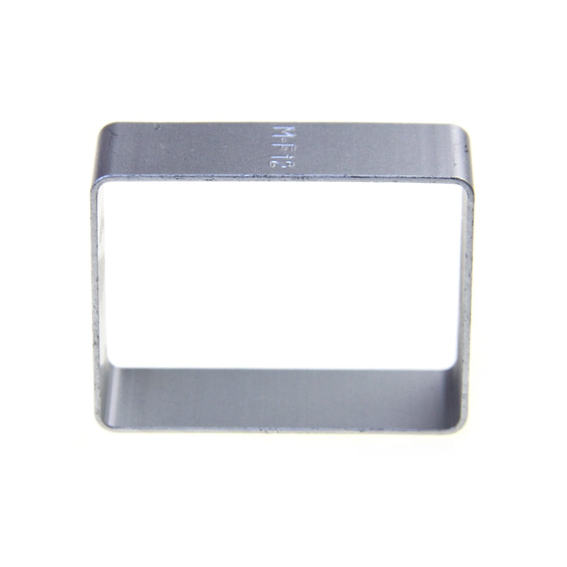 Rounded Rectangle Cookie Cutter - Aluminium - Crafty Cookie Cutters