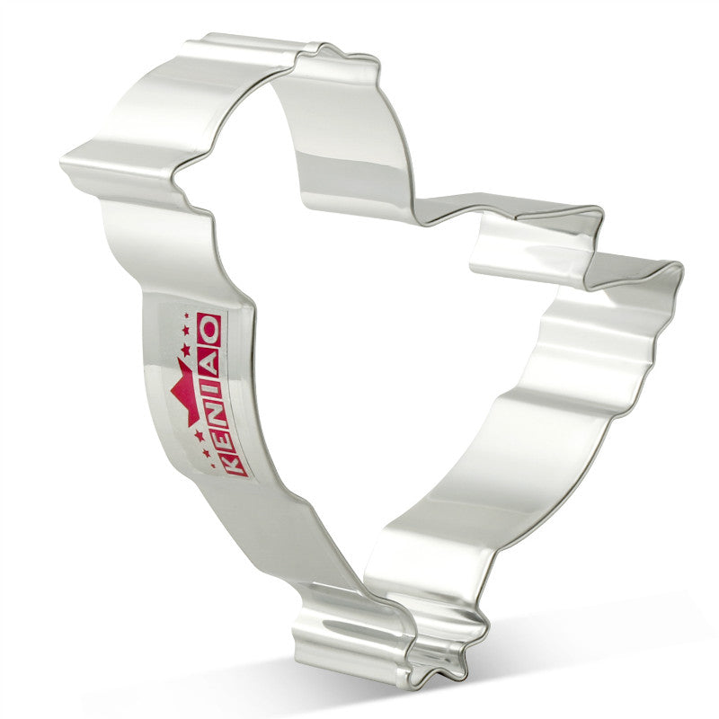 Chick Cookie Cutter - 9cm  - Stainless Steel - Crafty Cookie Cutters