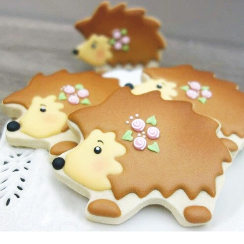 Hedgehog Cookie Cutter - 9cm - Stainless Steel - Crafty Cookie Cutters