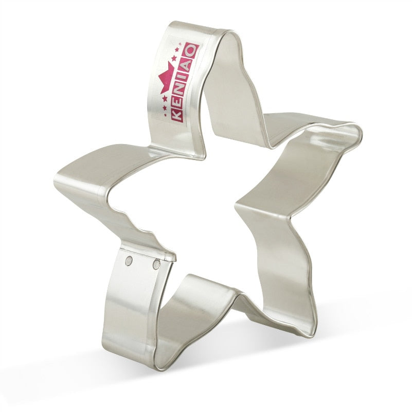 Starfish Cookie Cutter - 10cm - Stainless Steel - Crafty Cookie Cutters