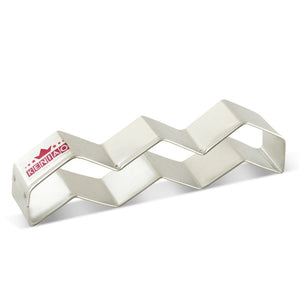 Chevron Cookie Cutter - 14 cm - Stainless Steel - Crafty Cookie Cutters