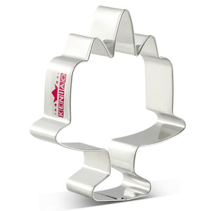 Unicorn Cake Cookie Cutter - 10cm - Stainless Steel - Crafty Cookie Cutters