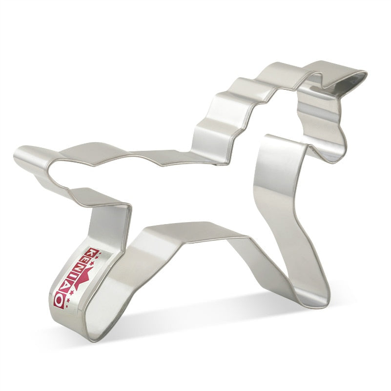 Unicorn Cookie Cutter - 11cm - Stainless Steel - Crafty Cookie Cutters
