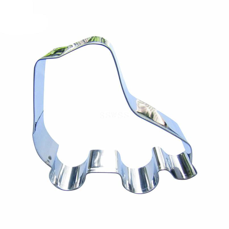 Roller Skates Cookie Cutter - 9cm - Stainless Steel - Crafty Cookie Cutters