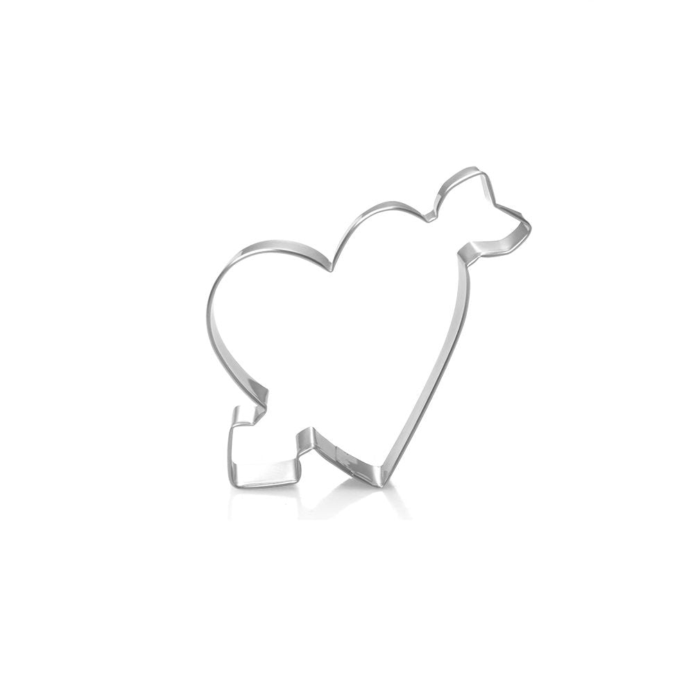 Arrow Heart Cookie Cutter - 9cm - Stainless Steel - Crafty Cookie Cutters