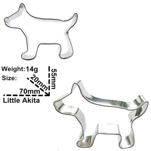 Dog Cookie Cutter - 7cm - Stainless Steel - Crafty Cookie Cutters
