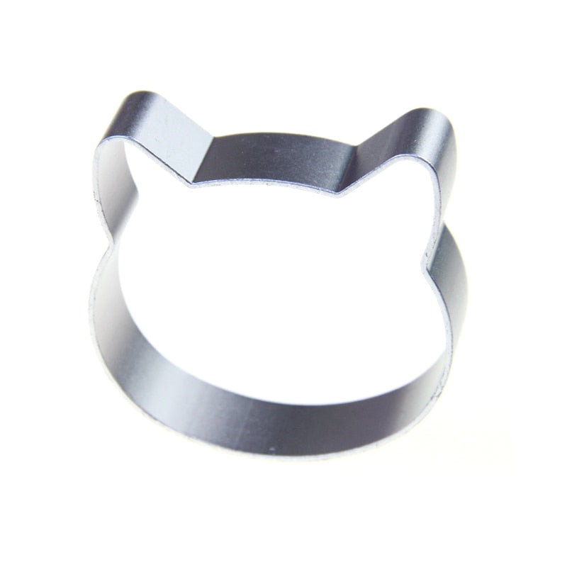 Mini Cat Cookie Cutter - Aluminum - Crafty Cookie Cutters