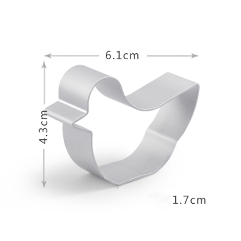 Mini Duck Cookie Cutter - 6cm - Aluminium - Crafty Cookie Cutters