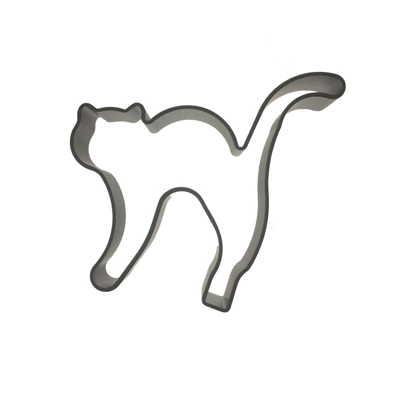 Cat Cookie Cutter - Aluminium - Crafty Cookie Cutters