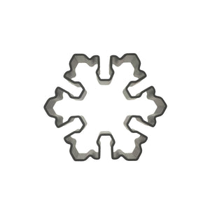 Snowflake Cookie Cutter - Aluminium - Crafty Cookie Cutters