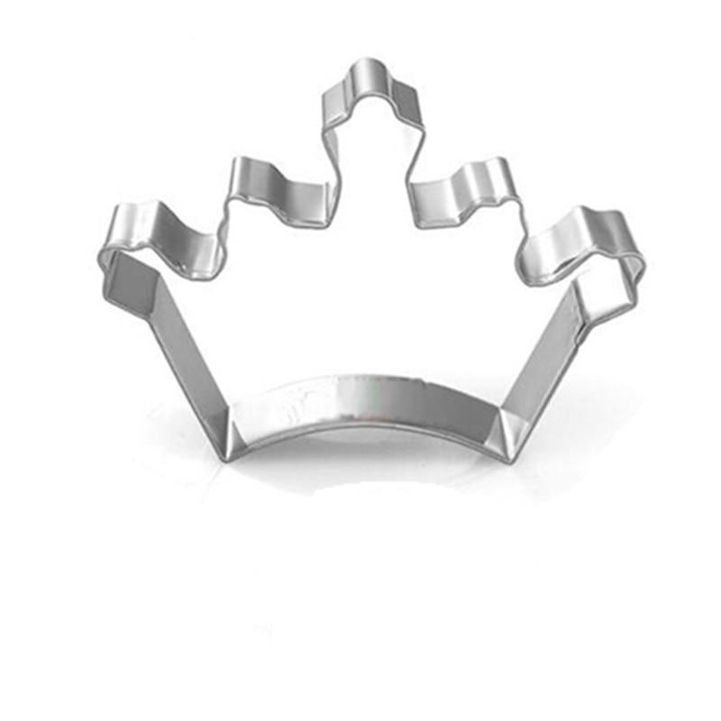 Crown Cookie Cutter - 8cm - Stainless Steel - Crafty Cookie Cutters
