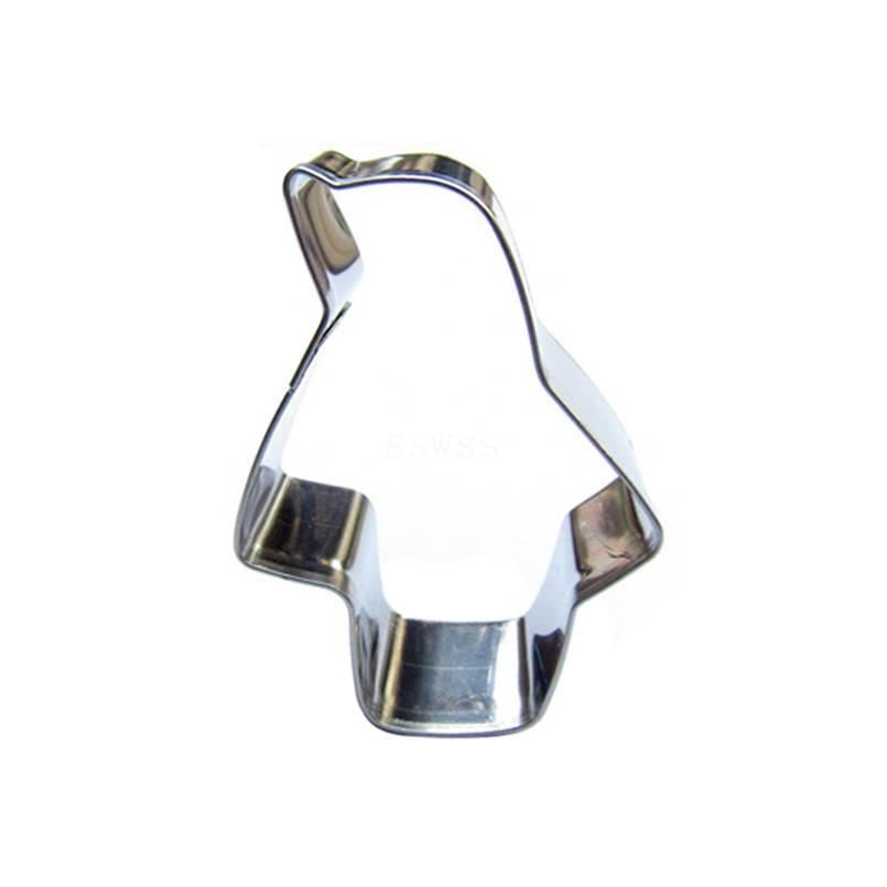 Penguin Cookie Cutter - 5cm - Stainless Steel - Crafty Cookie Cutters